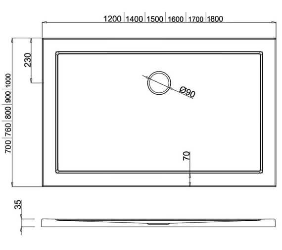 Technical drawing QS-V8046 / Z1174