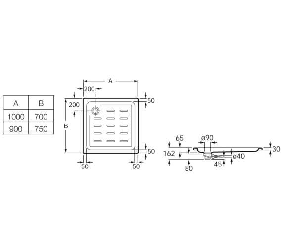 Technical drawing QS-V92033 / 276087000