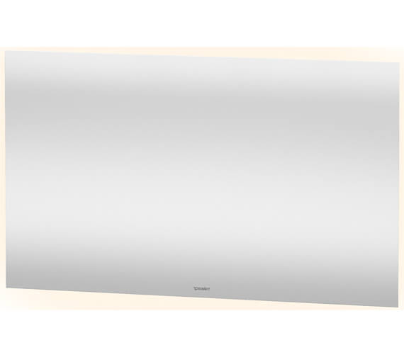 Alternate image of Duravit 700mm Height 4 Sided Ambient Light LED Mirror