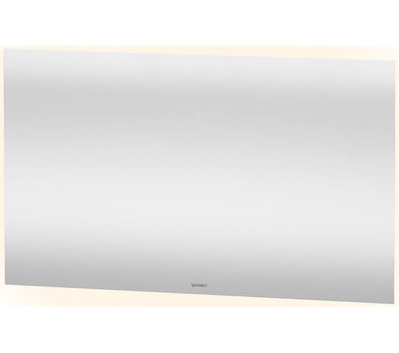 Alternate image of Duravit 700mm Height 4 Sided Ambient Light LED Mirror With Sensor Switch