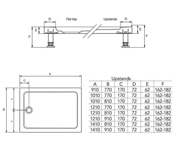 Technical drawing QS-V81013 / 1.1697.351.WH