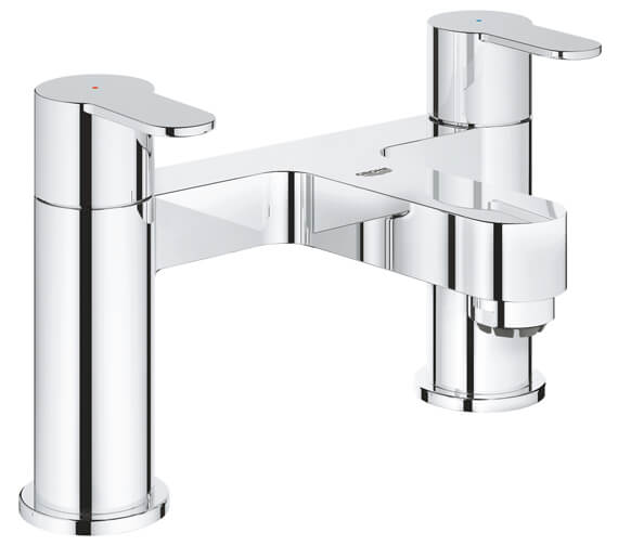Grohe Bauedge Two Handled Bath Filler Tap