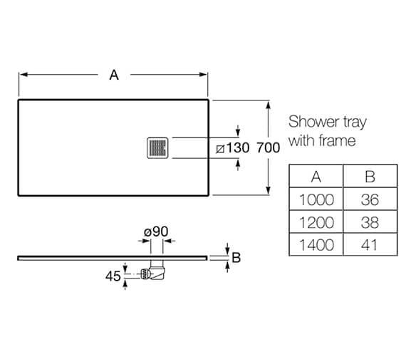 Technical drawing QS-V92055 / P1013E82BC01100
