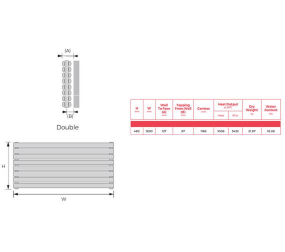 Technical drawing QS-V94049 / FIHDWH-48-120