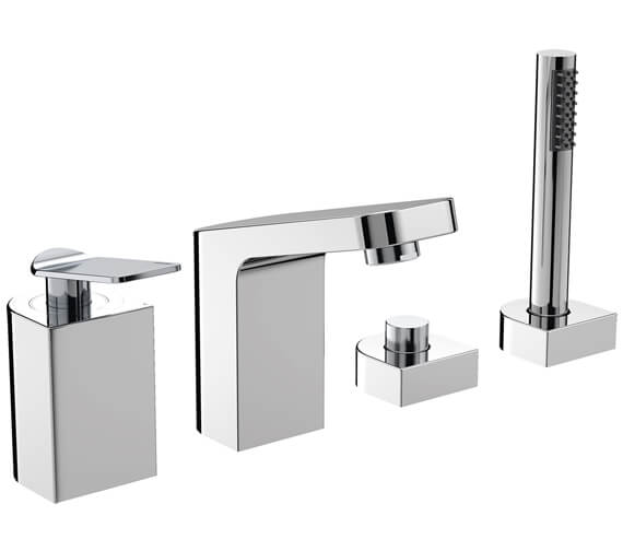Bristan ALP 4 Hole Chrome Bath Shower Mixer Tap