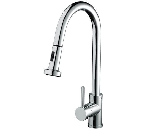 Bristan Apricot Kitchen Sink Mixer Tap With Pull Out Spray