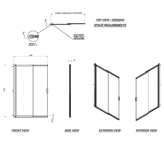 Technical drawing QS-V31217 / 1160128