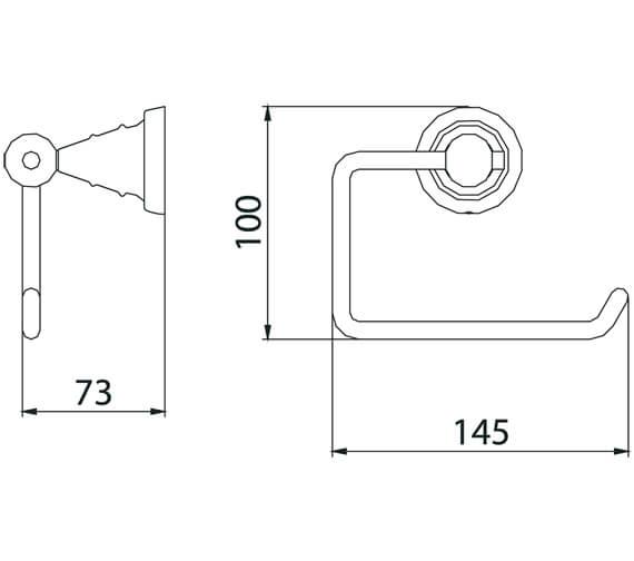 Technical drawing QS-V80622 / N2 ROLL C