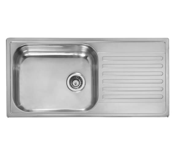 Reginox Minister 10 Single Bowl Stainless Steel Inset Sink 1000 x 500mm