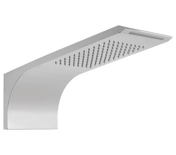Vado Omika 2 Function Wall Mounted Shower Head Chrome
