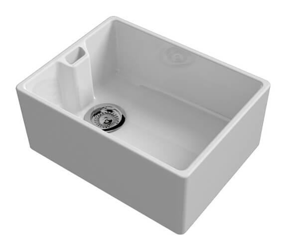 Reginox Belfast Contemporary Ceramic Kitchen Sink 595 x 455mm