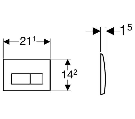 Technical drawing QS-V16043 / 115.258.00.1