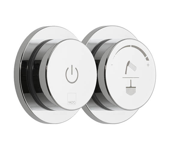 Vado Sensori SmartDial 2 Outlet Digital Shower Control Valve