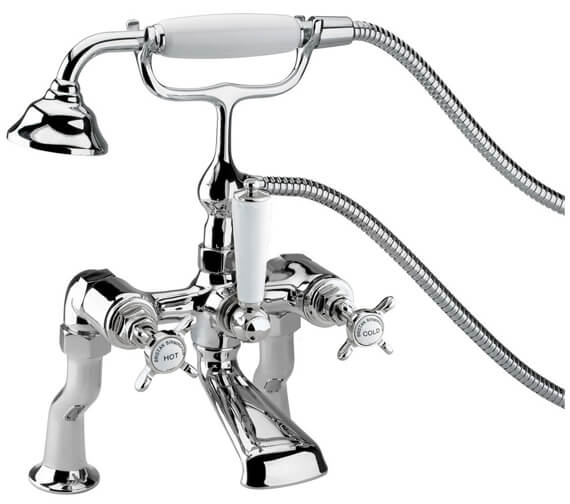 Bristan 1901 Chrome Luxury Bath Shower Mixer Tap