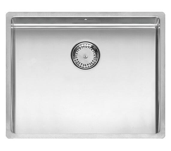 Alternate image of Reginox New York Single Bowl Stainless Steel Integrated Sink 220mm