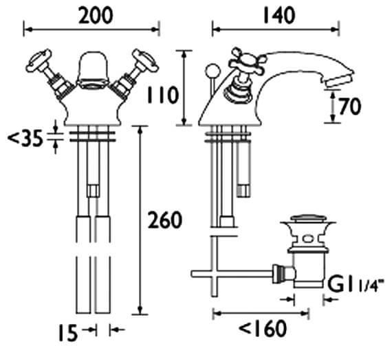 Technical drawing QS-V54037 / N BAS C CD