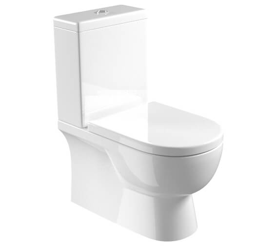 Saneux Austen Close Coupled WC Pan With Cistern