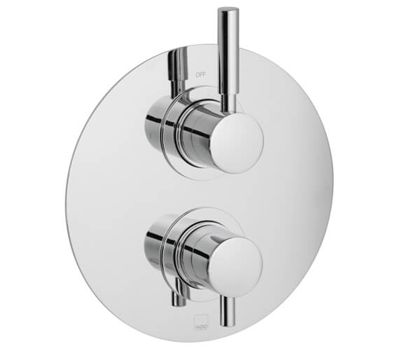 Vado Origins Concealed 1 outlet 2 Handle Thermostatic Shower Valve