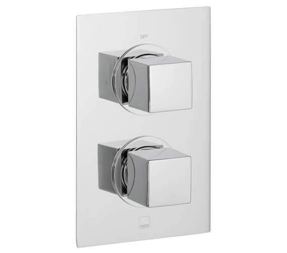 Vado Mix Concealed 1 outlet 2 Handle Thermostatic Shower Valve