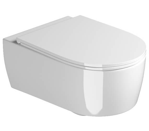Saneux Austen Slim Wall Mounted WC Pan