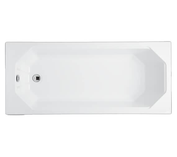 Carron Camden 5mm Acrylic Single Ended Bath 1600 x 700mm