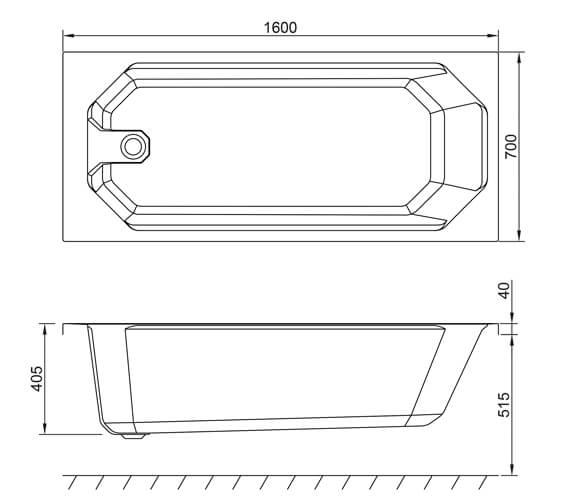 Technical drawing QS-V99558 / Q4-02555