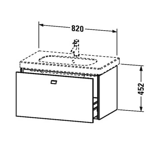 Technical drawing QS-V95439 / BR404501818