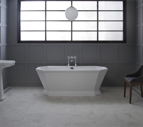 Carron Highgate 1700 x 750mm Freestanding Carronite Bathtub