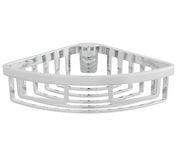 Vado Removable Chrome Corner Basket