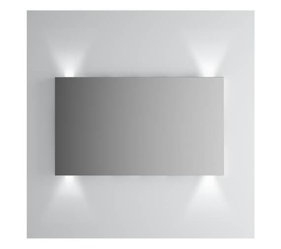 Alternate image of VitrA Brite LED Illuminated Mirror