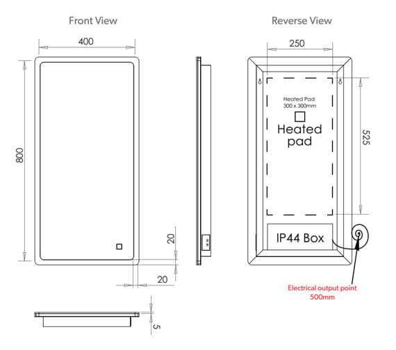 Technical drawing QS-V99560 / 78749000