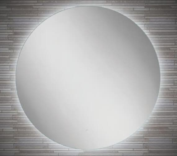 Additional image of HIB Theme 60 LED Illuminated 600mm Round Mirror