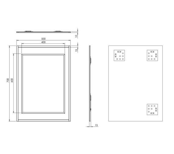 Technical drawing QS-V30924 / 76060500
