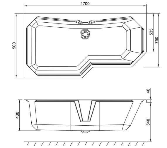 Technical drawing QS-V94154 / Q4-02538