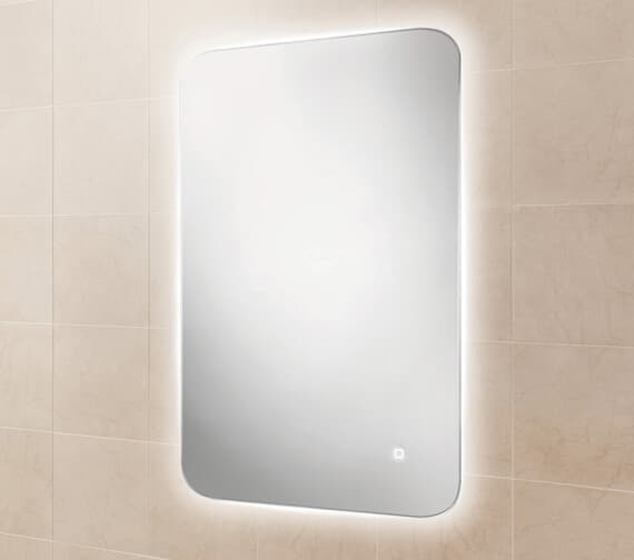 Additional image of HIB Ambience 40 Steam Free Mirror With Colour Changing LED Lighting 400 x 800mm