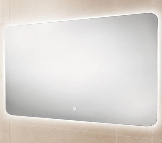 Alternate image of HIB Ambience 40 Steam Free Mirror With Colour Changing LED Lighting 400 x 800mm