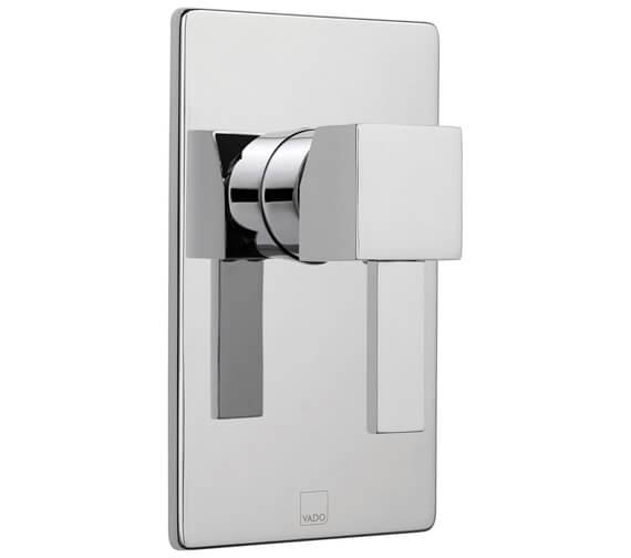 Vado Te Concealed Single Lever 1 Outlet Shower Valve Without Diverter