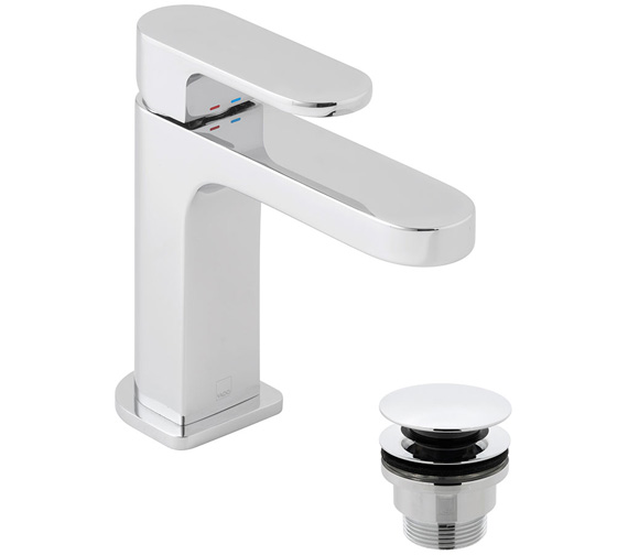 Additional image of Vado Life Slimline Mono Basin Mixer Tap Without Clic Clac Waste