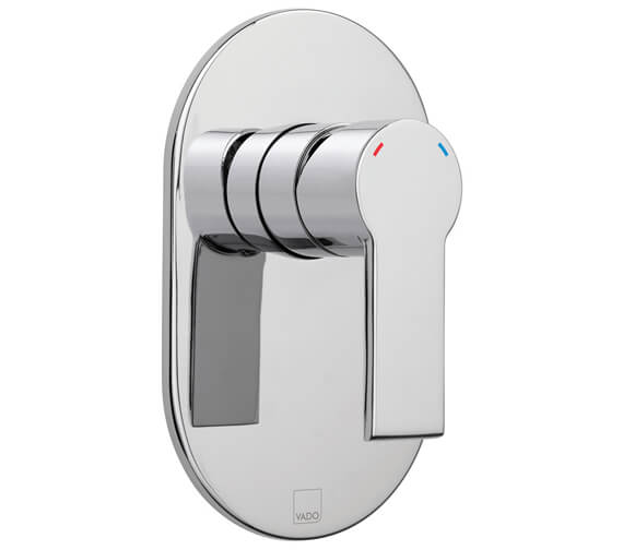 Vado Ion Wall Mounted Manual Shower Valve Without Diverter