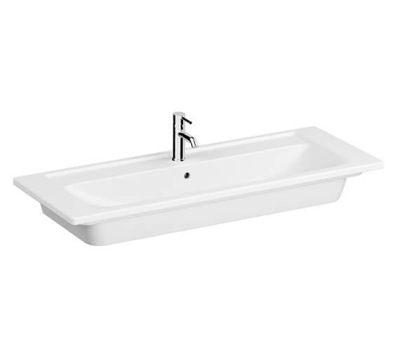 VitrA Integra 1200mm White Vanity Basin