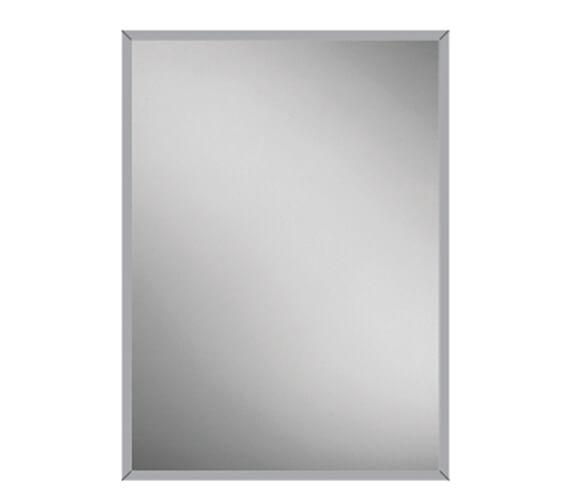 HIB Essence 50 Single Door Recessed Aluminium Cabinet 530 x 730mm
