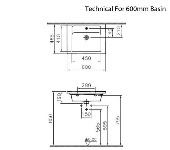 Technical drawing QS-V90787 / 7055B003-0001