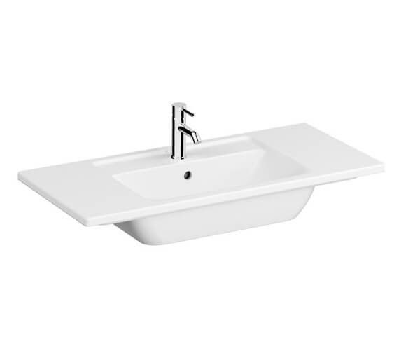 Alternate image of VitrA Integra White Vanity Basin With 1 Tap Hole