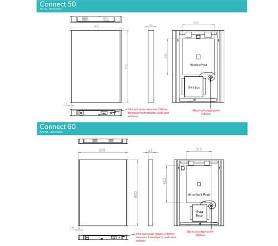 Technical drawing QS-V94670 / 78763000