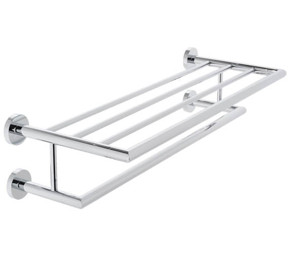 Vado Spa Towel Shelf With 600mm Towel Rail
