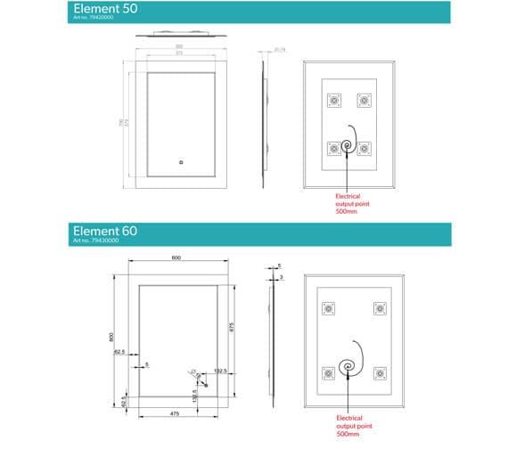 Technical drawing QS-V94669 / 79420000