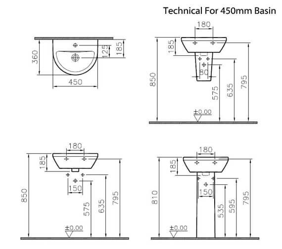 Technical drawing QS-V90785 / 7065L003-0001