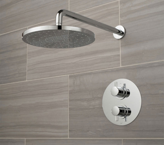 Vado Celsius 1 Outlet Thermostatic Shower Set