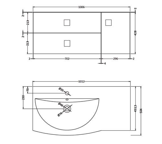 Technical drawing QS-V90031 / SAR119L