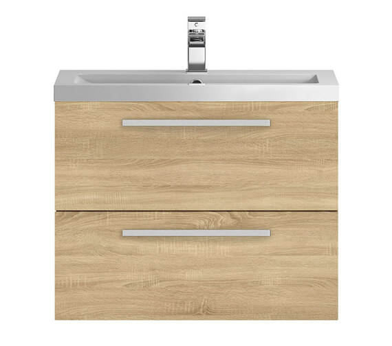 Additional image of Hudson Reed Quartet 720 x 510mm Wall Hung Cabinet And Basin